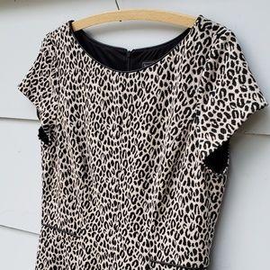 Jessica Howard Dresses - Jessica Howard Fit & Flare Leopard Print Dress -14